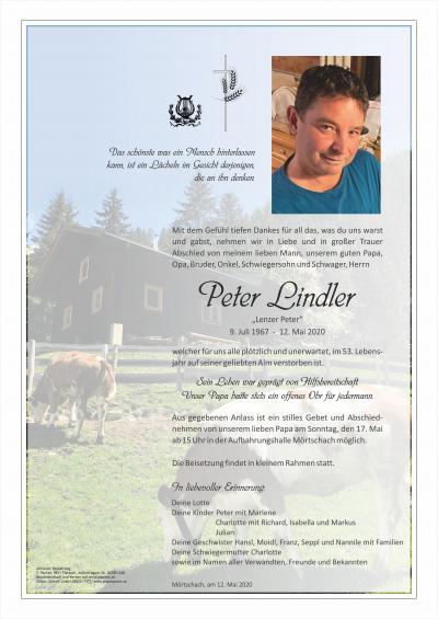 Peter Lindler