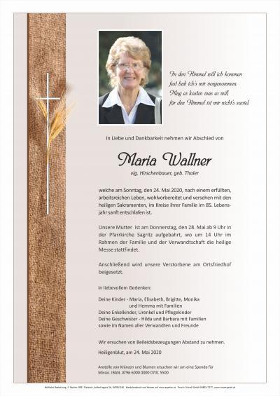 Maria Wallner