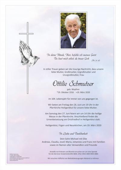 Ottilie Schmutzer
