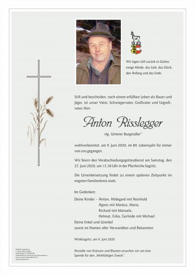 Anton Risslegger