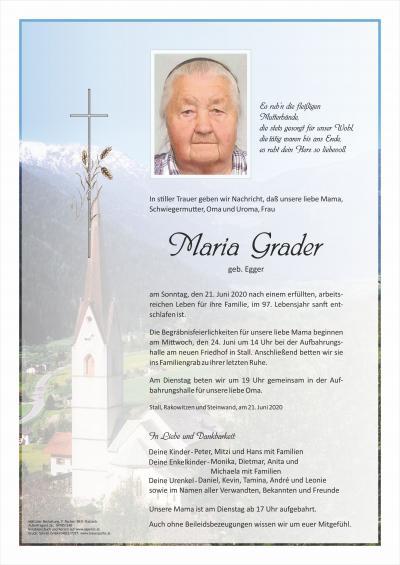 Maria Grader