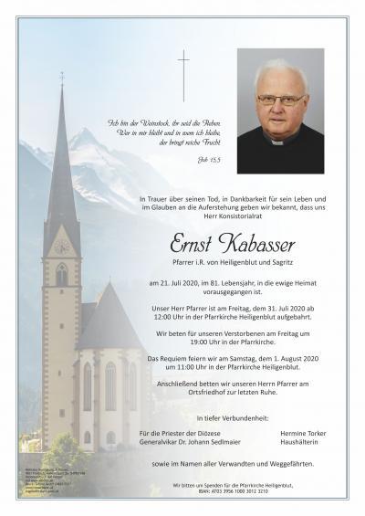 Ernst Kabasser