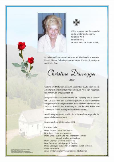 Christine Dürregger
