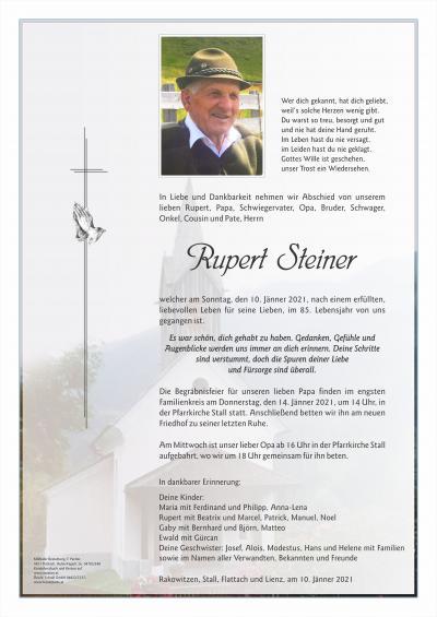 Rupert Steiner