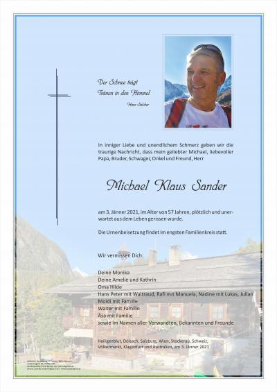 Michael Klaus Sander