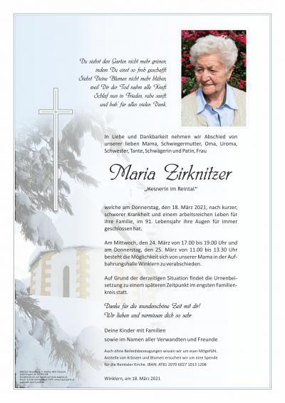 Maria Zirknitzer