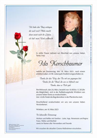 Ida Kerschbaumer
