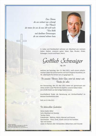 Gottlieb Schwaiger