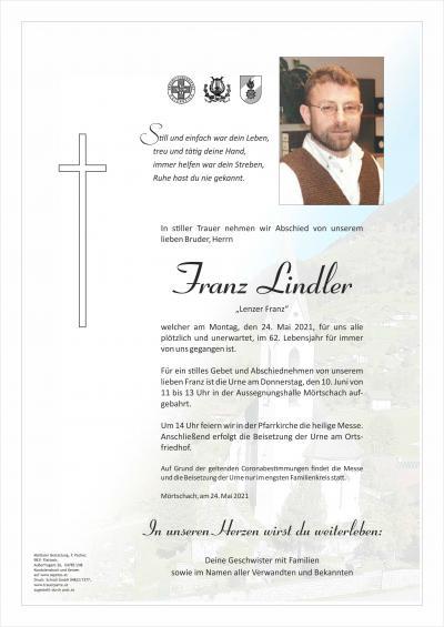 Franz Lindler