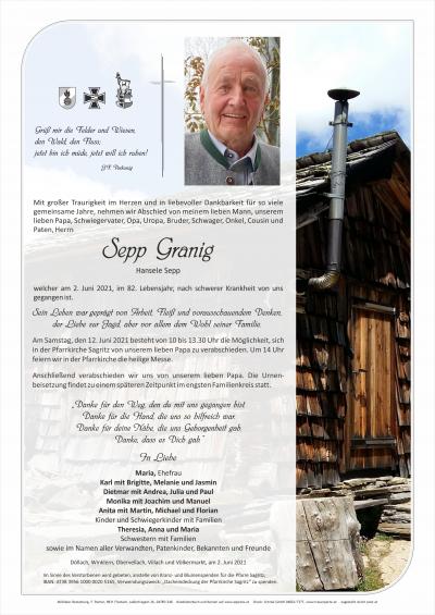 Sepp Granig